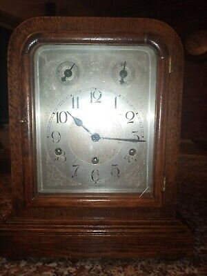 Antique westminster chime clock