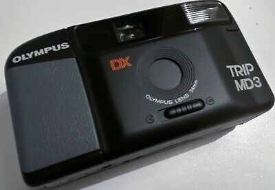 Mint And Unused Fully Functioning Olympus Trip MD3 Compact 35mm Film Camera