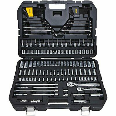DEWALT Mechanics Tools Kit and Socket Set, 156-Piece (DWMT72164), New