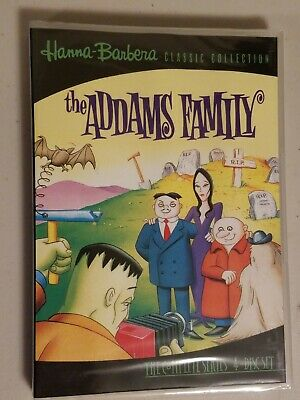 Hanna-Barbera: The Addams Family - The Complete Series (DVD, 1973)