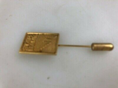 State Bank Of South Australia - Employee Pin - 9Ct Gold - 4.5 Cm