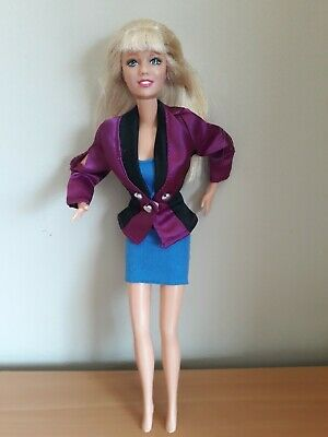 * BEVERLY HILLS 90210 * Kelly Taylor / Jennie Garth Mattel Doll 1991