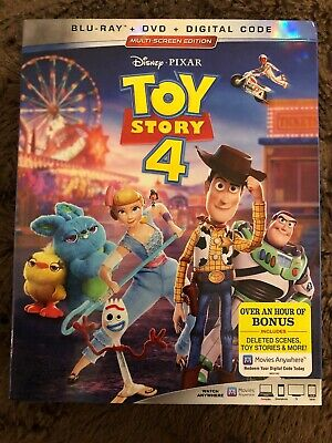 Toy Story 4 (Blu-ray + DVD 2019) (No Digital Copy) with Slipcover