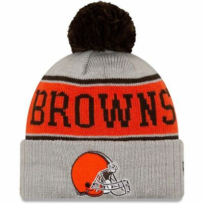 Outerstuff NFL Cleveland Browns Toddler Cuffed Knit with Pom Hat OSFM