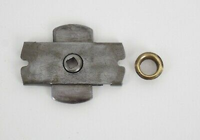 Antique Singer Treadle Sewing Machine Drawer Case Cabinet Lock Square