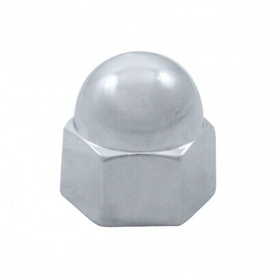 "20X Chrome Zinc 7/16"" X 5/8"" Acorn Nut Cover"