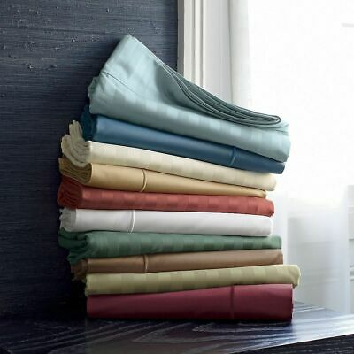 Complete bedding items 1000 TC Best Egyptian cotton All US Size & Stripe Color
