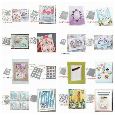 Background Frame Metal Cutting dies Diy Scrapbooking Crarfts Cards Decoration
