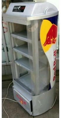 Open display Red Bull fridge