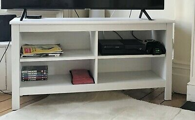 Super Ikea Brusali Tv Bench Great Condition 40 00 Picclick Uk Gmtry Best Dining Table And Chair Ideas Images Gmtryco