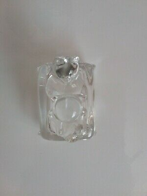 Cristal D'arques France Lead Crystal Cat/Kitten Ornament Paperweight Collectable