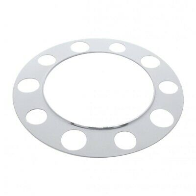 Chrome 10 Holes Beauty Ring - Steel