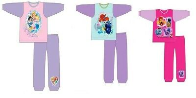 Girls Baby Girl Disney Official Character Pyjamas PJs Size Age 12 Mths - 5 Years