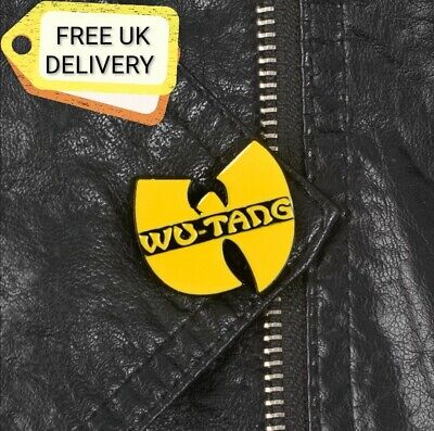 Wu Tang Enamel Pin Badge New Free Uk Delivery Punky Pins Accessories 3 29 Picclick Uk