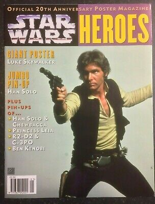 STAR WARS A New Hope - HEROES - Official 20th Anniversary Giant Poster Magazine