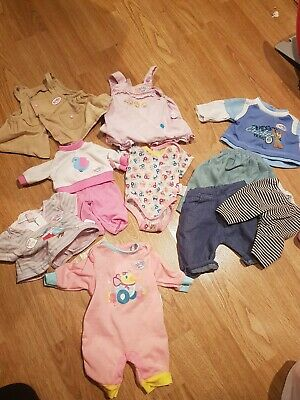 Bundle Baby Annabell doll clothes Zapf Creation Baby Born First Born