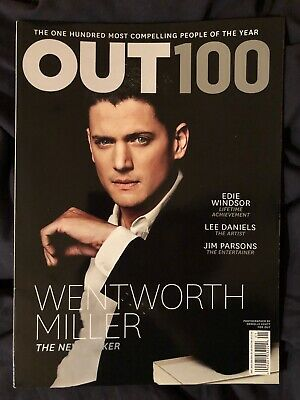 OUT Magazine - Dec 2013 - Wentworth Miller, Lee Daniels, OUT 100