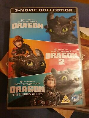 Dreamworks How to Train Your Dragon: 1-3 (Box Set) [DVD]