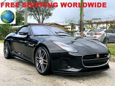2018 Jaguar F-Type R DYNAMIC 2018 JAGUAR F-TYPE R DYNAMIC CONVERTIBLE SUPERCHARGED ENGINE 86K MSRP