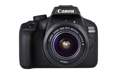 Canon EOS 4000D DSLR New Camera With 18 -55 Lens