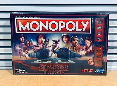 NEW Stranger Things Edition Monopoly Hasbro Board Game