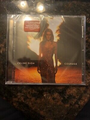 CELINE DION - COURAGE Album CD - BRAND NEW SEALED  Free Shipping