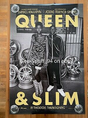 Queen & Slim DS Theatrical Movie Poster 27x40