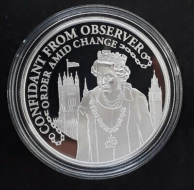 2015 Solomon Islands Confidant from Observer 28g Silver (.925) $10 Proof coin