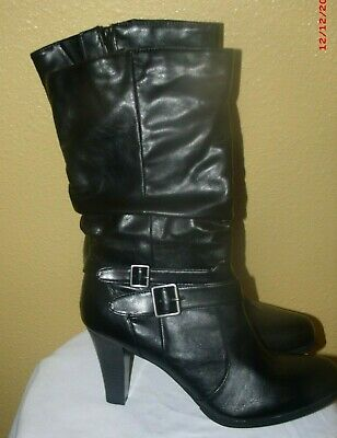Nwb Size 11m Style & Co Black  Mickay Mid-Calf Boots