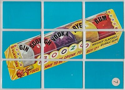 1974 Wacky Packages Series 7 Puzzle