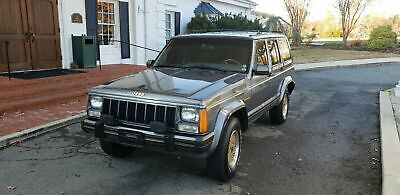 """1988 Jeep Grand Cherokee LIMITED 1988 Jeep Cherokee """"LIMITED"""" Sedan MINERAL Grey 4WD Automatic"""