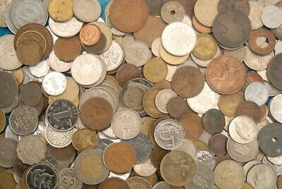 Bulk collection of mixed world coins 4.9 kg