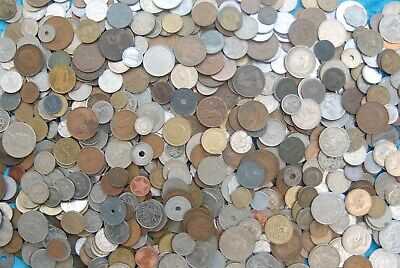 Bulk collection of mixed world coins 4.8 kg