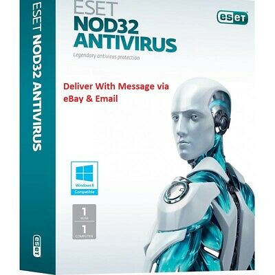 2020 ESET NOD32 Antivirus - 1 Computer 3 years - Instant Delivery via Ebay