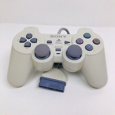 Genuine Sony PlayStation PS1 PSOne DualShock Controller SCPH-110 Tested Works