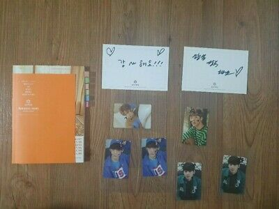Astro fan sign event album Autographed Hand Signed scribbling photocard