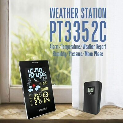 Wireless RCC Weather Station in/outdoor Thermometer Hygrometer Barometer