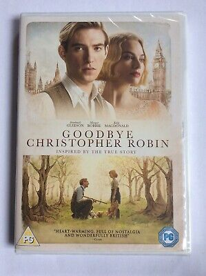 New And Sealed Goodbye Christopher Robin DVD 2017
