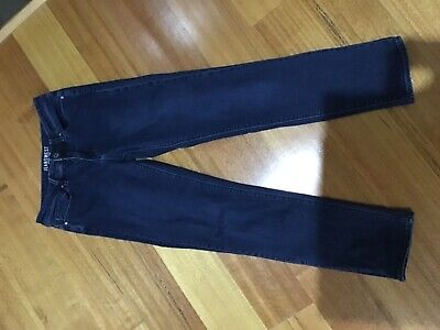 Jeans West ladies size 9 jeans slim Straigh style cotton polyester lycra blend