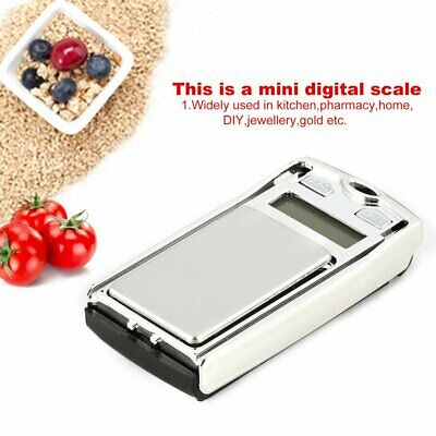 Mini Digital Pocket Scale 100g 0.01 Precision for Kitchen Jewellery g/dwt/ct VX