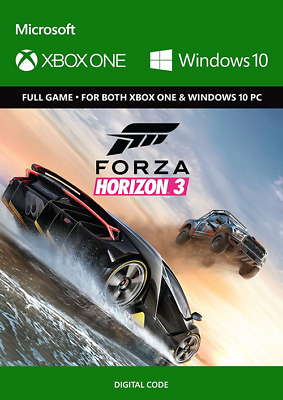 Forza horizon 3 Xbox one/PC Digital code
