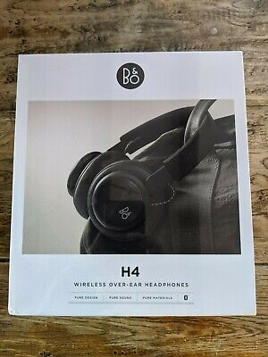 Bang And Olufsen B&O Beoplay H4 Over-Ear Wireless Bluetooth Headphones Black New