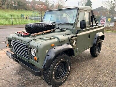 Land Rover 90 Defender 200 TDI  Soft Top, Ex Army MOD, Not Wolf, total rebuild