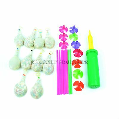 10 Latex Balloons Stuffed Stuffing Birthday Party Wedding Decorations With Pump