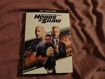Hobbs & Shaw Fast & Furious Gently Used Dvd 2019 Only Viewed Once + Digital Code