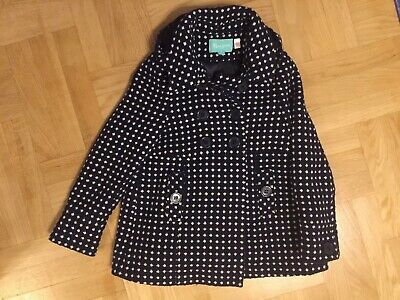 monsoon winter girls coat 8-10 Great Condition