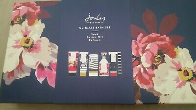 Joules Ultimate Bath Gift  Set.large 8 Piece Pamper Spa Set Brand New In Box