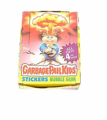 1986 Topps Garbage Pail Kids Series 4 Box New In Open Box