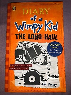 The Long Haul (Diary of a Wimpy Kid book 9) by Jeff Kinney (free stickers)