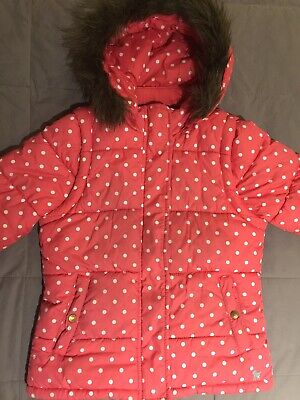 Mini Boden Girls 9-10 Jacket With Removable Sleeves